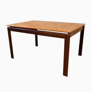 Vintage Teak Extendable Dining Table from O.D. Møbler