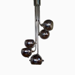 Lámpara de araña era espacial, años 70