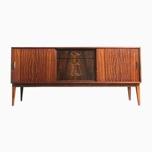 Mid-Century Rosewood & Walnut Sideboard by Herbert Gibbs