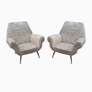 Armchairs by Gigi Radice, 1950s, Set of 2