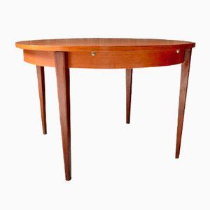 Furnierter Vintage Teak Tisch, 1960er