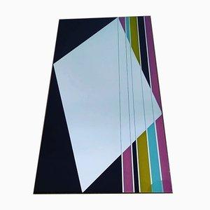 Miroir Mid-Century Multicolore
