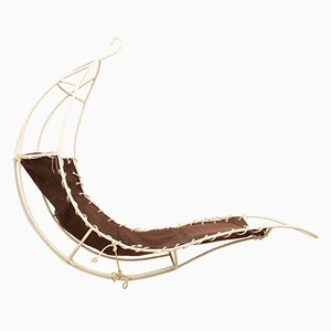 Hanging Leaf Chair by Rupert Oliver, 1960s