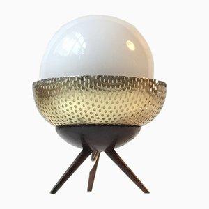 Lámpara de mesa Space Bug escandinava vintage pequeña, años 60