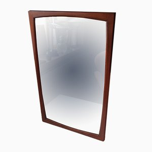 Danish Teak Mirror from Aksel Kjersgaard, 1960s