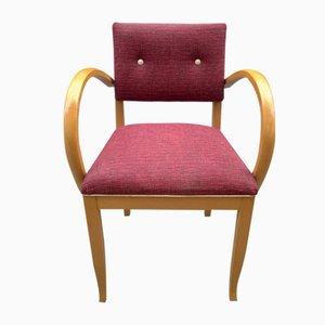 Roter Armlehnstuhl, 1950er