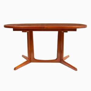Mid-Century Teak Extending Dining Table by Niels Otto Møller for Gudme Mobelfabrik, 1960s