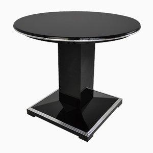 Runder Art Deco Tisch, 1930er