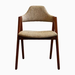 Mid-Century Teak Compass Chair by Kai Kristiansen for SVA