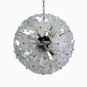 Sputnik Murano Glass Chandelier from Mazzega, 1970s