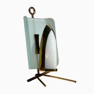 Lampada da tavolo Mid-Century di Arredoluce, anni '50
