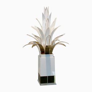 Mid-Century Palm Tree Lamp by Peter Doff for Bergers, 1970s