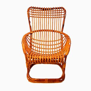 Wicker BP4 Armchair by Tito Agnoli for Pierantonio Bonacina, 1963