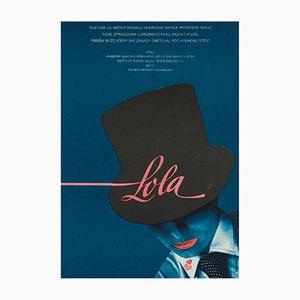 Lola Film Poster by Vratislav Seccik, 1983