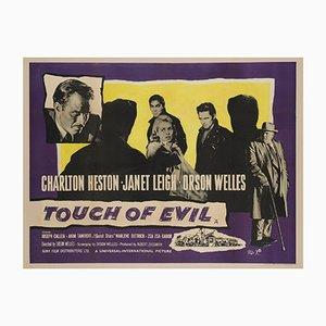 Affiche Touch de Evil Uk Quad, Angleterre, 1958