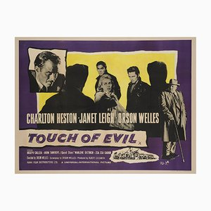 British Touch of Evil Quad Film Poster, 1958