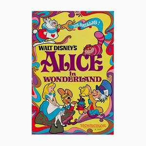 Alice in Wonderland Film Poster, 1970s