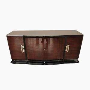 Large Art Deco Rosewood Sideboard, 1920s