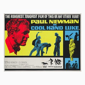 Cool Hand Luke Movie Poster, 1967