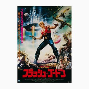 Flash Gordon Film Poster by Renato Casaro, 1980