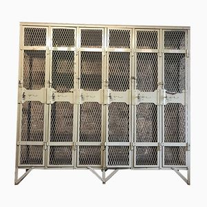 Vintage Industrial Metal Locker Cabinet from Walls Ltd