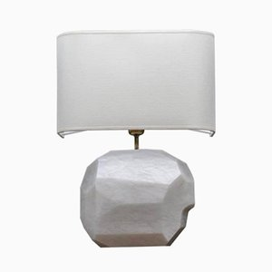 Alabaster and Brass Wall Sconce from Glustin Luminaires, 2017
