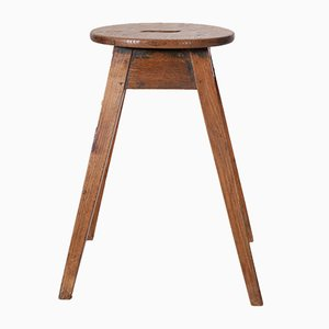 Antique Stool with Splayed Legs