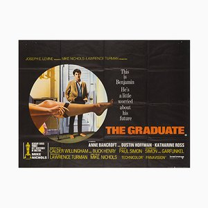 The Graduate Quad Film Poster, 1967