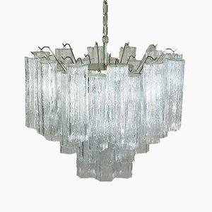 Lámpara de araña de cristal de Murano, 1986