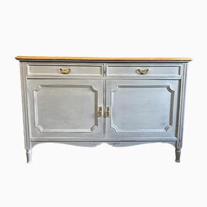 Vintage Light Grey Sideboard