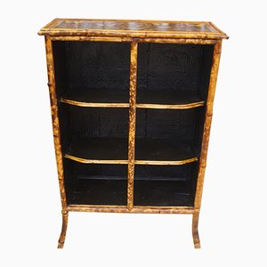 Antique Butterfly Bamboo Bookcase