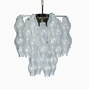 Lámpara de araña de cristal de Murano, 1967