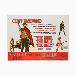 The Good, The Bad and the Ugly Film Poster, 1966