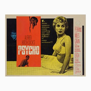 Psycho Movie Poster, 1960