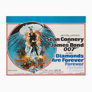 Affiche de Film Diamonds Are Forever par Robert McGinnis, 1971
