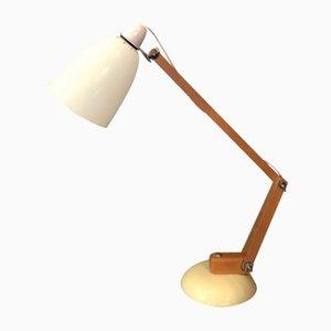 Lampe de Bureau Maclamp Blanche par Terence Conran pour Habitat, 1950s