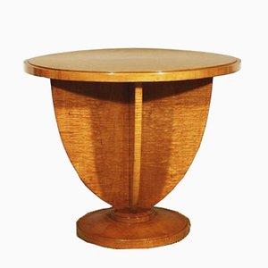 Mesa auxiliar vintage de madera de arce, años 30