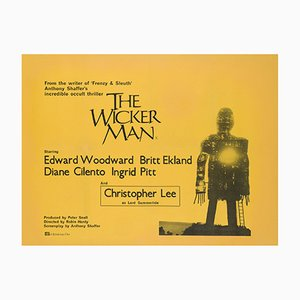The Wicker Man UK Quad Poster, 1973