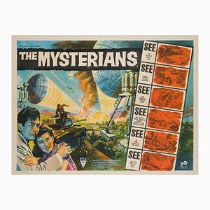 The Mysterians UK Quad Film Poster, 1957