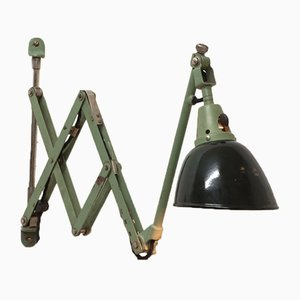 Midgard Scissor Lamp by Curt Fischer for Industriewerke Auma, 1920s