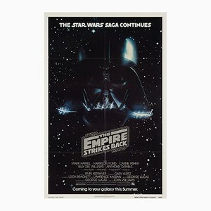 The Empire Strikes Back Movie Poster, 1980