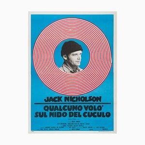 Póster de la película One Flew Over the Cuckoo's Nest, años 70