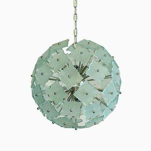 Sputnik Murano Glass Pendant, 1977
