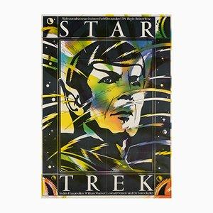 Star Trek Poster by Schulz Ilabowski, 1985