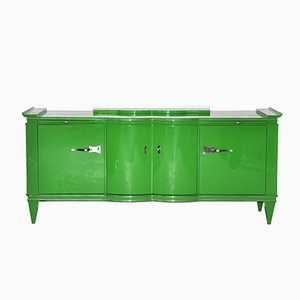 Art Deco Sideboard in Green, 1925