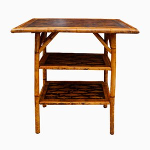 Victorian English Bamboo Table, 1880s