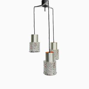 Lampe à Suspension Vintage avec 3 Abat-jours