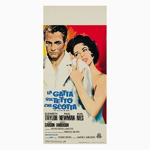 Cat on a Hot Tin Roof Film Poster by Silvano Nano Campeggi, 1966