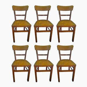Dining Chairs from Nicolaus Mathieu, 1940s, Set of 6