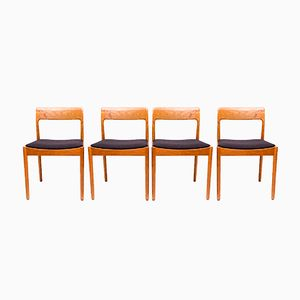 Mid-Century Danish Dining Chairs from Norgaards, 1960s, Set of 6